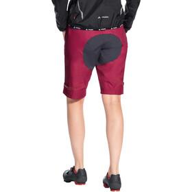 VAUDE Drop Shorts Women crimson red